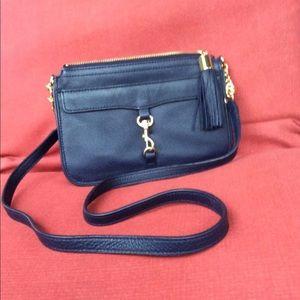 Talbots navy blue crossbody bag